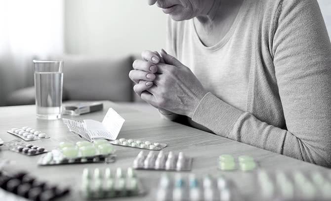 薬物療法の副作用が激しい
